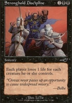 Nemesis Foil: Stronghold Discipline