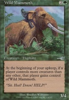 Nemesis Foil: Wild Mammoth