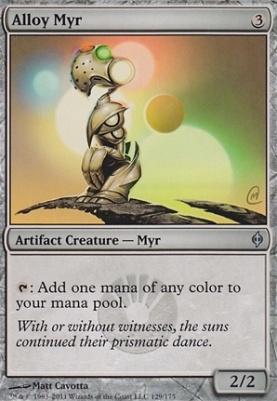 New Phyrexia: Alloy Myr