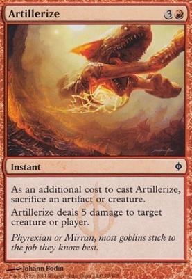 New Phyrexia: Artillerize
