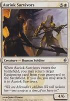 New Phyrexia Foil: Auriok Survivors