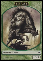 New Phyrexia: Beast Token