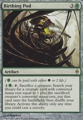 New Phyrexia: Birthing Pod