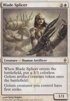 New Phyrexia Foil: Blade Splicer