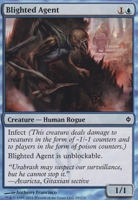 New Phyrexia: Blighted Agent