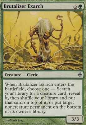 New Phyrexia: Brutalizer Exarch