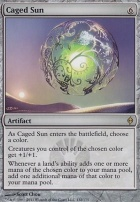 New Phyrexia Foil: Caged Sun
