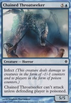 New Phyrexia Foil: Chained Throatseeker