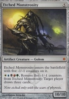 New Phyrexia: Etched Monstrosity