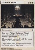 New Phyrexia Foil: Exclusion Ritual