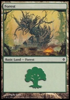 New Phyrexia Foil: Forest (174 A)