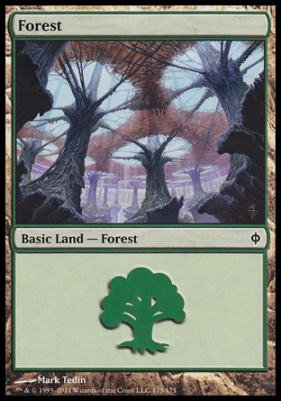 New Phyrexia: Forest (175 B)