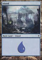 New Phyrexia: Island (168 A)
