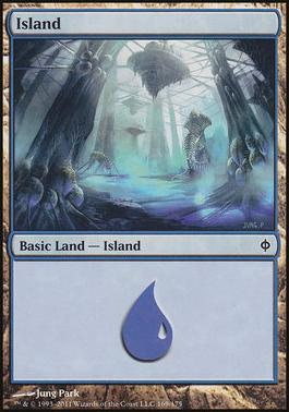 New Phyrexia: Island (169 B)