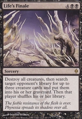 New Phyrexia: Life's Finale