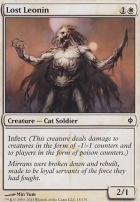 New Phyrexia: Lost Leonin