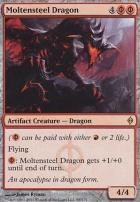 New Phyrexia: Moltensteel Dragon