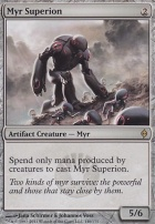 New Phyrexia: Myr Superion