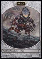 New Phyrexia: Myr Token
