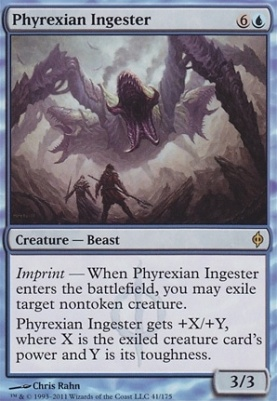 New Phyrexia Foil: Phyrexian Ingester