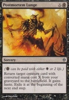 New Phyrexia: Postmortem Lunge