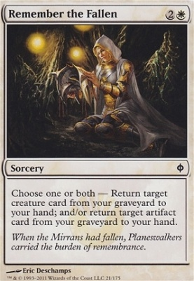 New Phyrexia Foil: Remember the Fallen