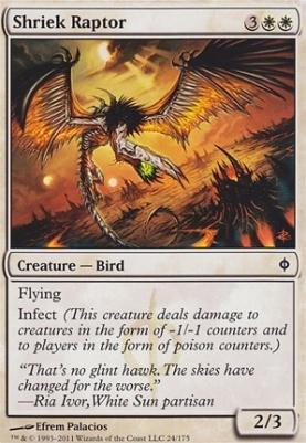 New Phyrexia: Shriek Raptor