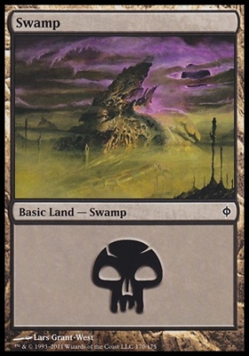 New Phyrexia: Swamp (170 A)