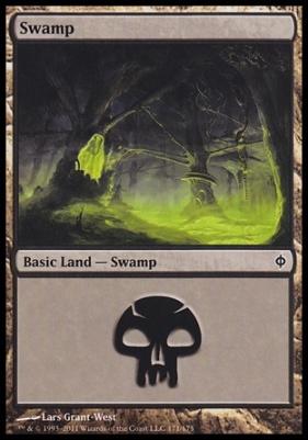 New Phyrexia: Swamp (171 B)