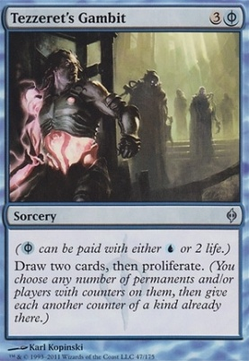 New Phyrexia: Tezzeret's Gambit