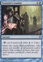 New Phyrexia Foil: Tezzeret's Gambit
