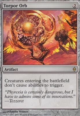 New Phyrexia: Torpor Orb