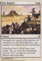 New Phyrexia Foil: War Report