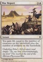New Phyrexia: War Report