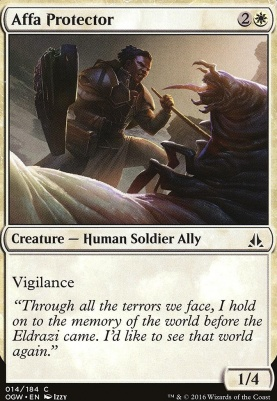 Oath of the Gatewatch Foil: Affa Protector