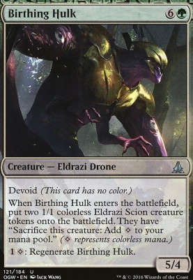 Oath of the Gatewatch Foil: Birthing Hulk
