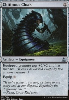 Oath of the Gatewatch Foil: Chitinous Cloak