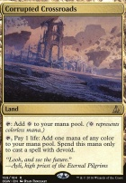 Oath of the Gatewatch Foil: Corrupted Crossroads
