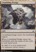 Oath of the Gatewatch Foil: Crumbling Vestige