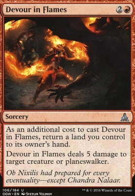 Oath of the Gatewatch Foil: Devour in Flames