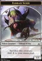 Oath of the Gatewatch: Eldrazi Scion Token (001 A)
