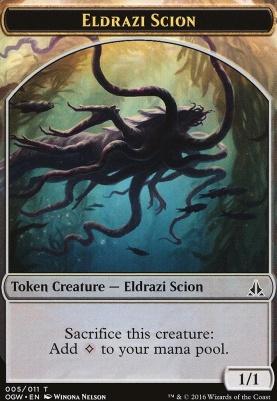 Oath of the Gatewatch: Eldrazi Scion Token (005 E)