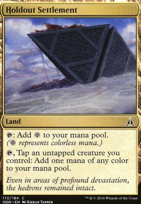 Oath of the Gatewatch Foil: Holdout Settlement