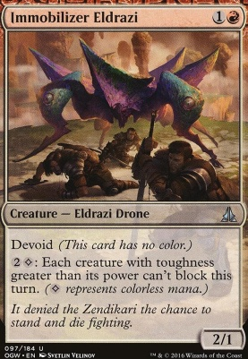 Oath of the Gatewatch Foil: Immobilizer Eldrazi