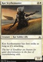 Oath of the Gatewatch Foil: Kor Scythemaster