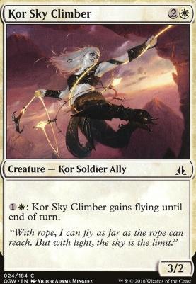 Oath of the Gatewatch Foil: Kor Sky Climber