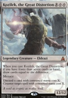 Oath of the Gatewatch: Kozilek, the Great Distortion