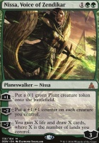 Oath of the Gatewatch Foil: Nissa, Voice of Zendikar