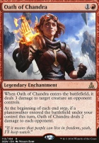 Oath of the Gatewatch Foil: Oath of Chandra