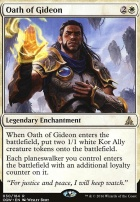 Oath of the Gatewatch Foil: Oath of Gideon